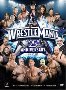 wrestlemania 25 dvd
