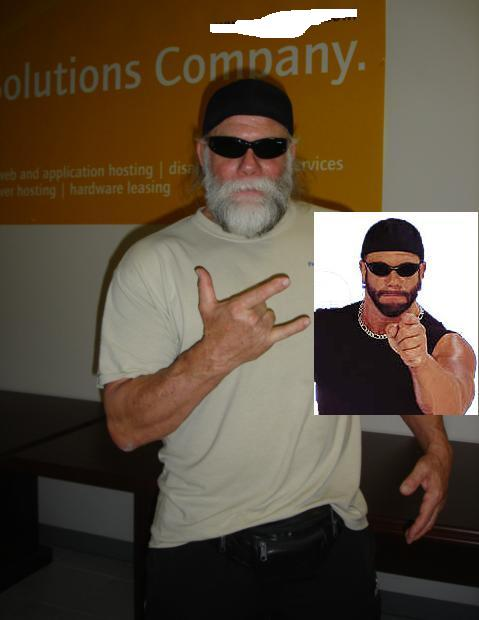 01f81138545 Bruce's Thoughts: As some of you may know I don't really watch wrestling  much these days. Still the news of Randy Savage's passing hit me pretty  hard.