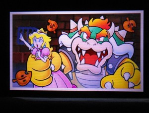 I hope by now Mario realizes that Peach actually LIKES being kidnapped, she got a thing for hard, spikey shells.